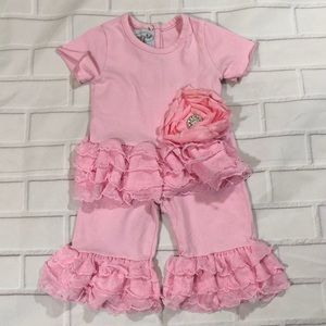 Mud Pie Ruffle Outfit